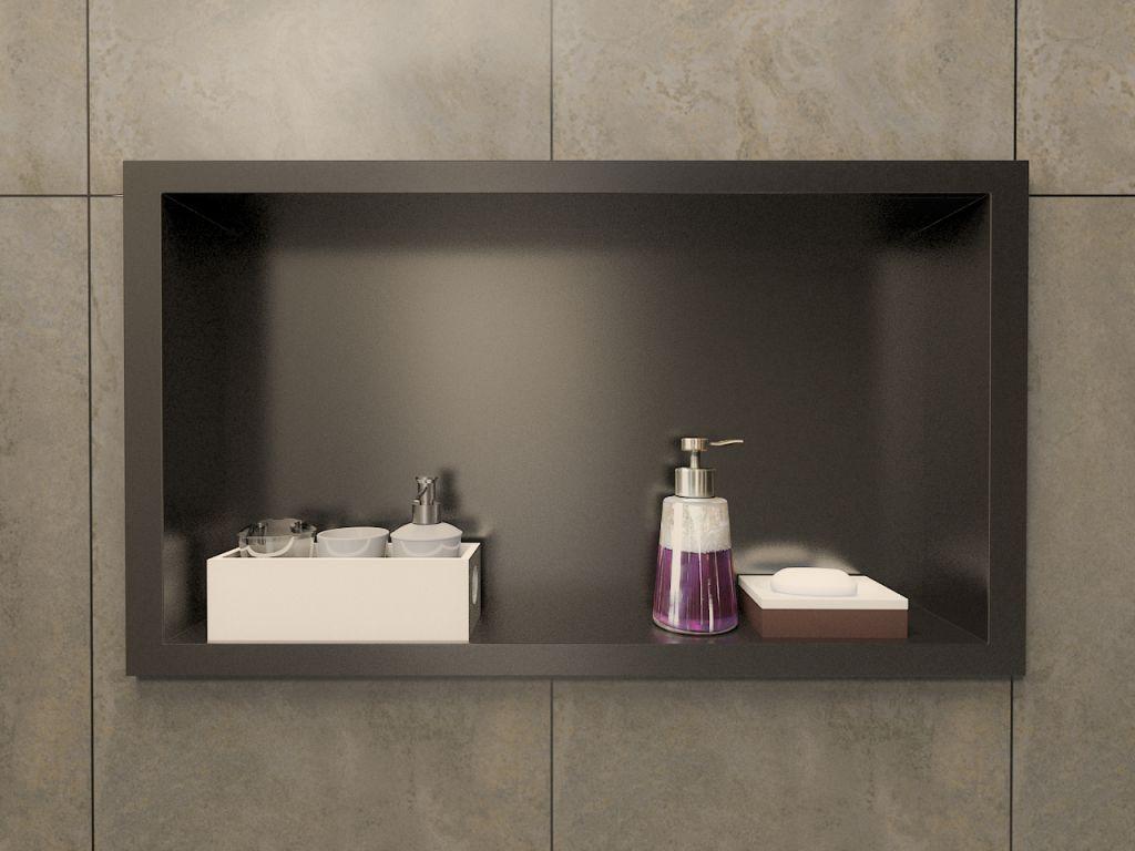 Nicho Banheiro Brasilia : Nicho para banheiro venturi slate